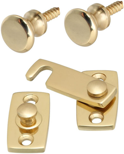 National Hardware N216-135 V1955 Shutter Bar Kits, Solid Brass