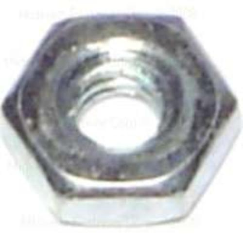 Midwest Products 03748 Zinc Hex Machine Screw Nut 6-32