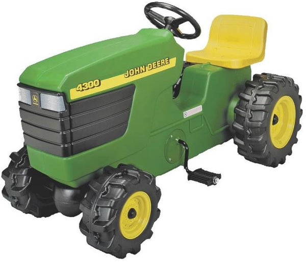 "John Deere 46394 Plastic Pedal Tractor Ride On Toy, 38"", Green, Age 3+"