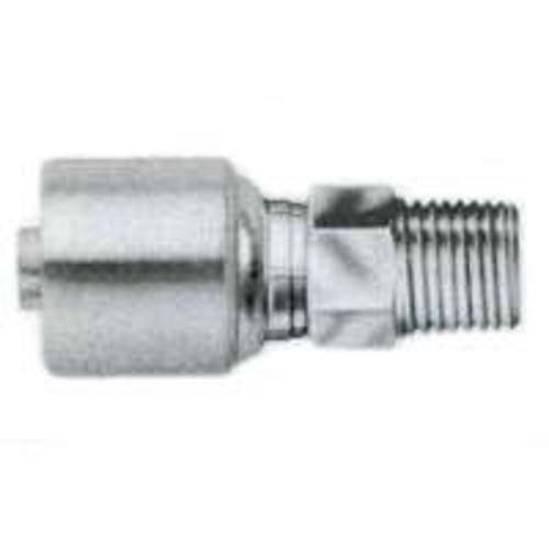Gates G251000406 G25-Series 4G-6MP Male Hydraulic Hose Coupling, 1/4""
