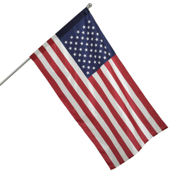 "Valley Forge AA99090 Aluminum Pole & Flag Kit 30""x50"""