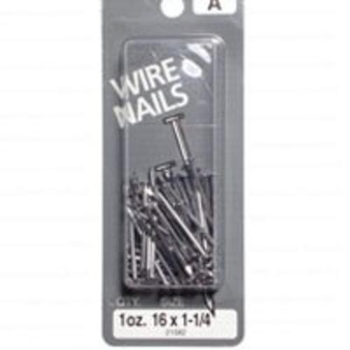 "Midwest 21582 Wire Nails, 16"" x 1-1/4"""
