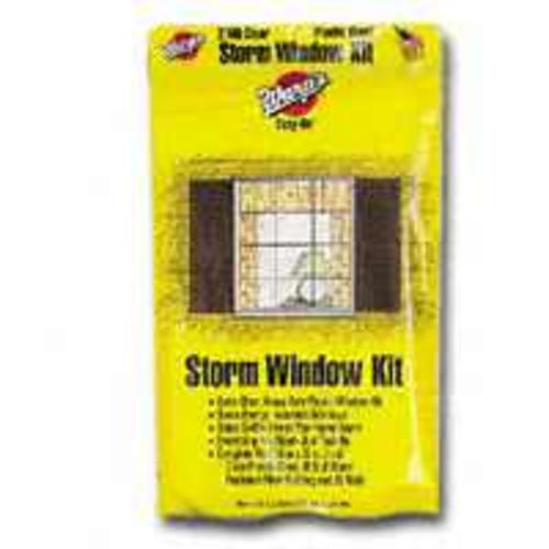 "Warp's EZ-36 Clear Plastic Storm Window Kit, 36"" x 72"""