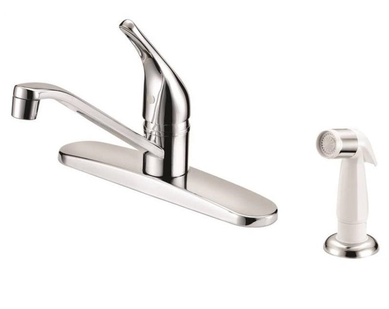Boston Harbor FS610046CP Single Handle Kitchen Faucets, Chrome
