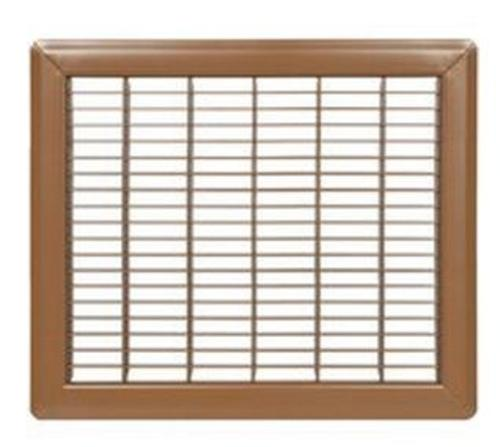 "Imperial RG1184 Return Air Floor Grille, 8"" x 10"", Brown"