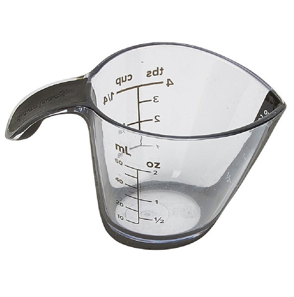 Good Cook 20344 Measuring Cup, 1/4 Cup, Assorted Colors
