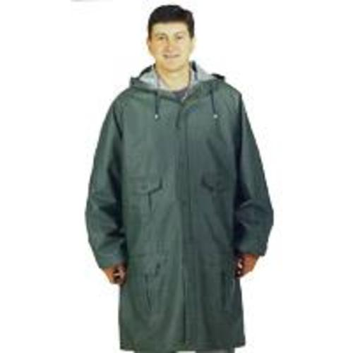 Diamondback 8156-XXXL Heavy Duty PVC Rain Parka, 3X-Large, Blue