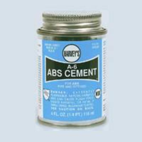 Harvey 018500-24 Black Abs Cement 4 Oz.