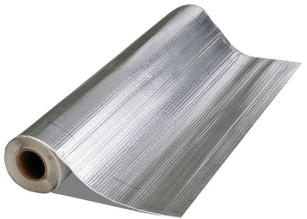 "Mfm Building Products 50006 Self-Stick Aluminum Roll Roofing, 6"" x 33-1/2'"