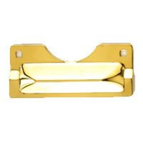 "Mintcraft HSH-012 Heavy-Duty Latch Guard 3""X7"" - Brass"