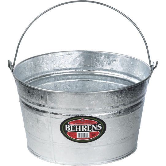 Behrens C17 Hot Dipped Steel Pail, 4.25 Gallon