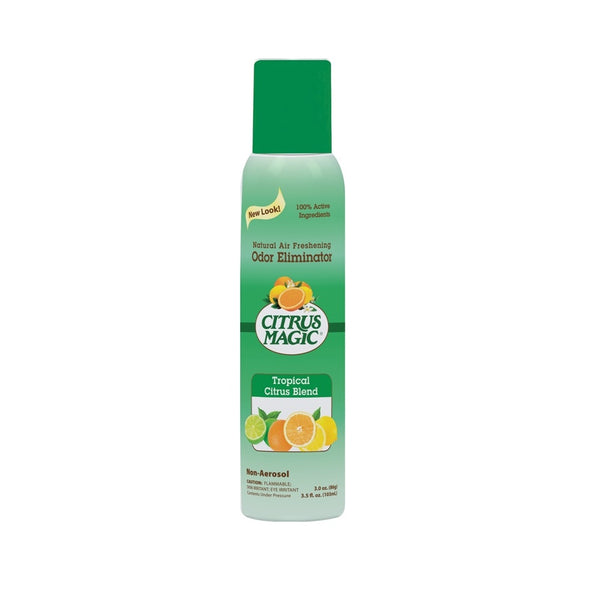 Citrus Magic 612172867 Air Freshener, Tropical Citrus Blend, 3 Oz