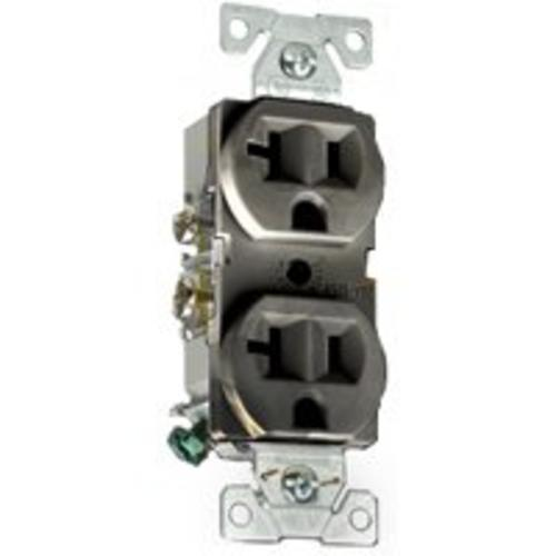 Cooper Wiring CR20B Commercial Grade Receptacle, 20 Amp