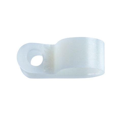 "Jandorf 61471 Nylon Cable Clamp, 3/8"" x 7/16"""