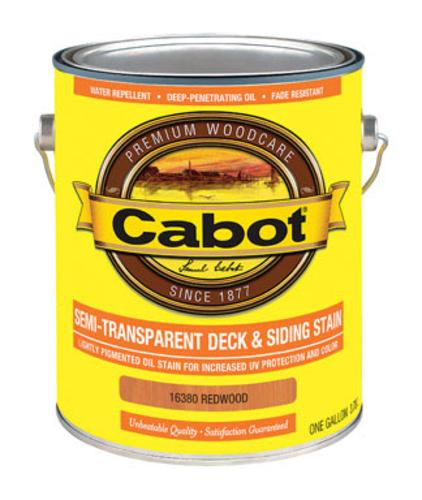Cabot 01-16380 Semi Transparent Deck & Siding Stain