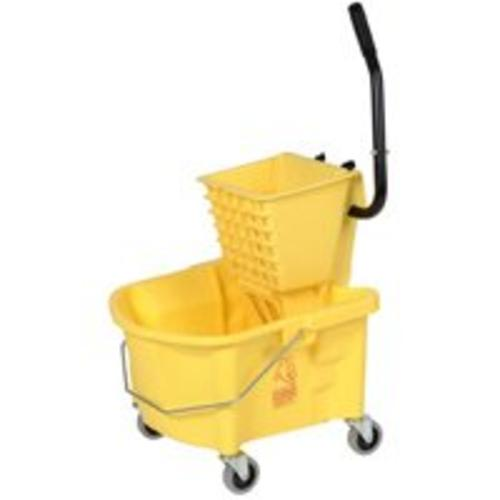 Continental 226-312YW Mop Bucket Combo, 26 Quart
