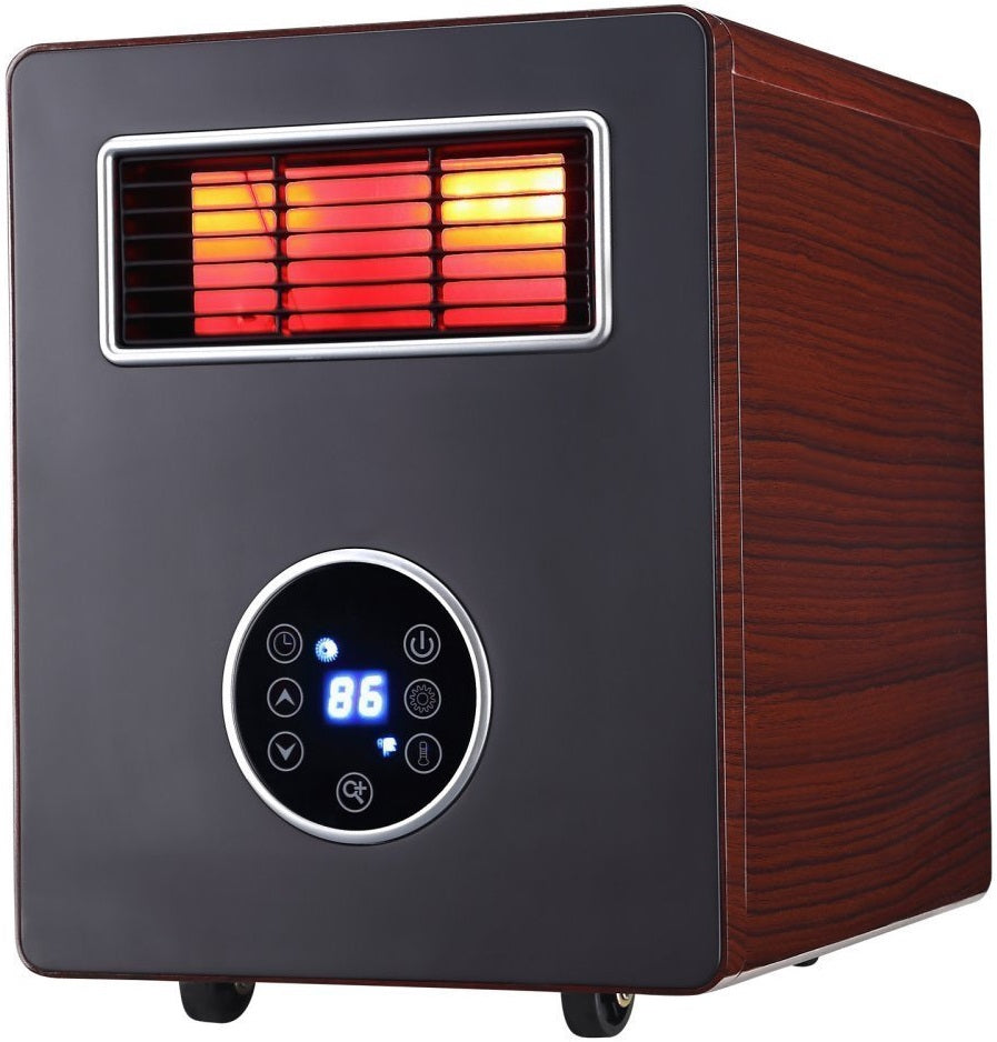 Comfort Glow CDE4800 Advanced PTC Heater with HEPA Filter & UV Lamp, 1500W