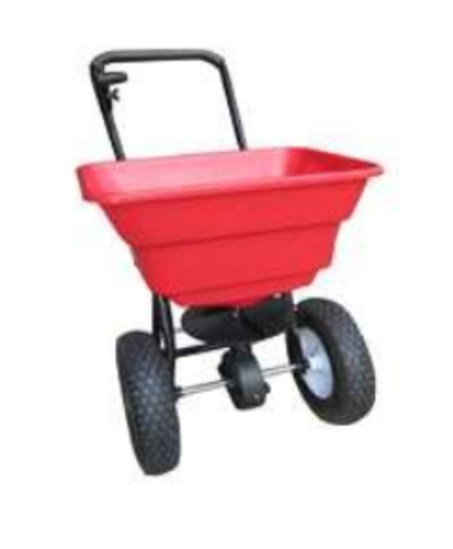 Vulcan YTL31504 Push Broadcast Spreader, 80 lbs Walk