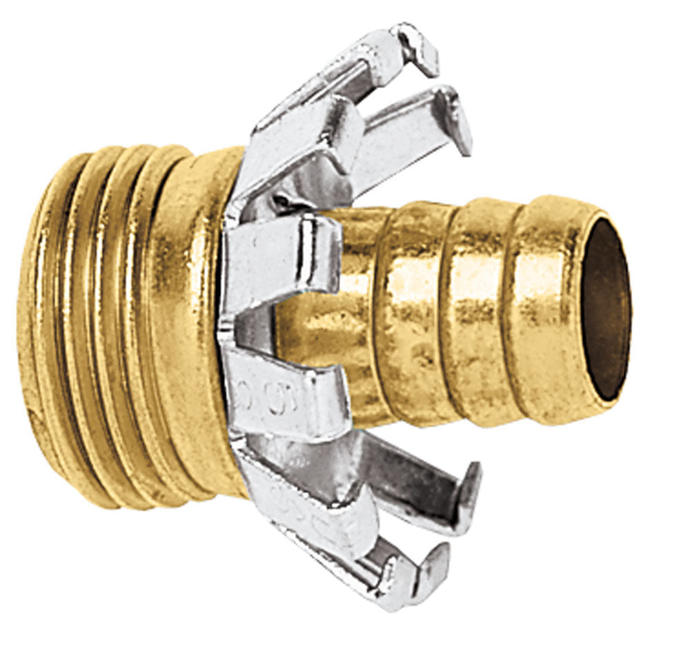 Gilmour C12M Male Clinch Coupler 1/2""
