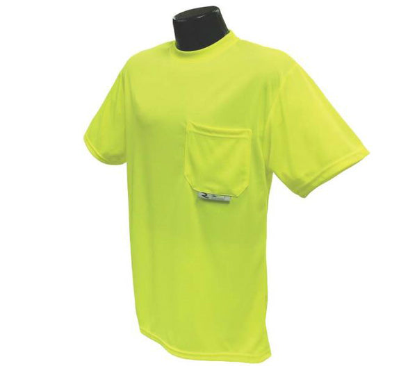 Radians ST11-NPGS-XL Polyester Mesh Non-Rated Short Sleeve Safety T-Shirt