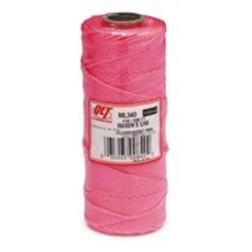 Marshalltown ML340 Braid Mason Line 500', Pink