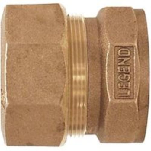 "Legend Valve 313-174NL Compression x Fpt Coupling 3/4"" Copper"