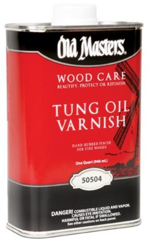 Old Masters 50504 Tung Oil Varnish, 1 Qt