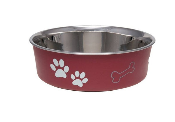 Boss Pet 7413MM Bella Bowl, Medium, Merlot