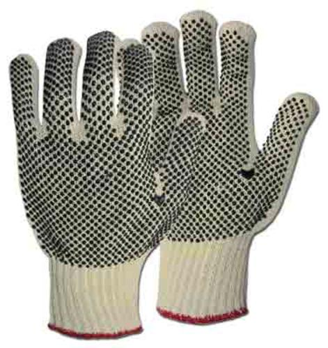 Boss 5522 Reversible Dotted String Knit Gloves, Large