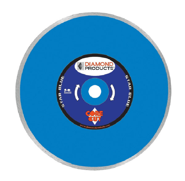 Diamond Products 80012 Star Blue Dry Tile Blade