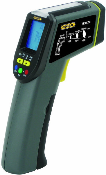 General Tools IRTC50 Thermoseeker IR Thermometer With Star Burst Laser Targeting