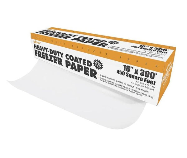 "Weston 834001W Heavy Duty Freezer Paper, 18"" x 300'"