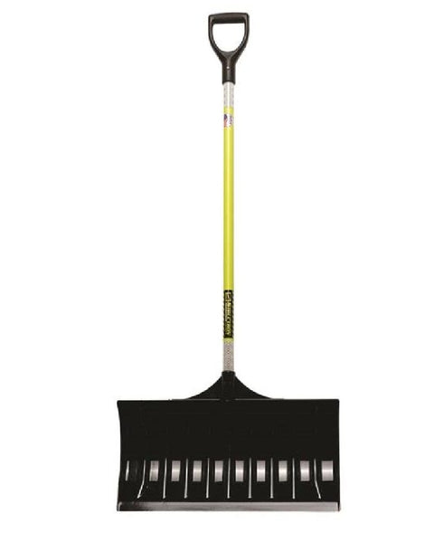 "Structron 96858 Safety Snow Pusher, 24"", Fiberglass Handle"