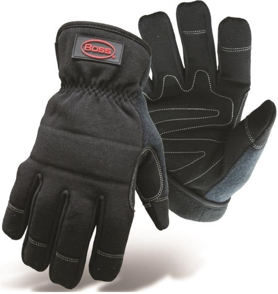 Boss 5207X Utility Padded Glove, X-Large, Black