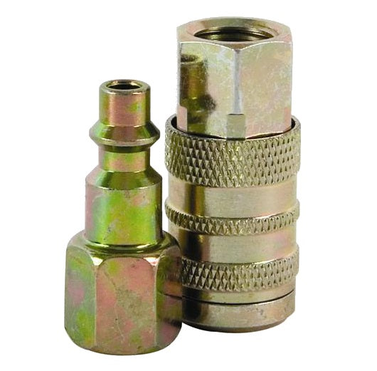Bostitch IHKIT-14F Industrial Hose Coupler Kit, 1/4""