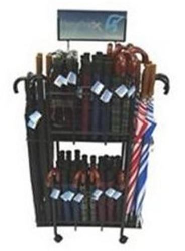 "Homebasix TF01 Portable Umbrella Rack, 27"" x 18'' x 53''"