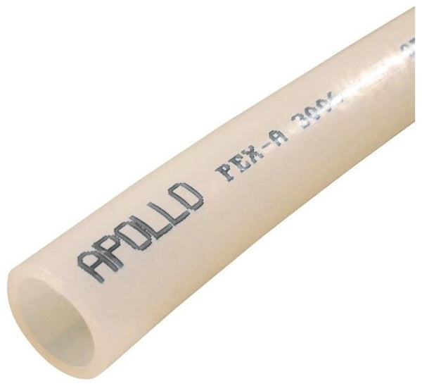 "Apollo EPPW10012 White PEX-A Pipe, 1/2"" x 100' L"