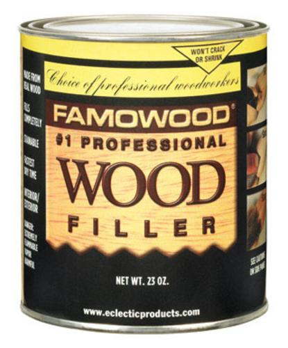 Famowood 36021128 Solvent Based Wood Filler, 23 Oz