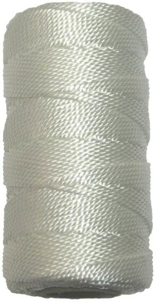 Ben-Mor 60112 Twisted Nylon Mason Twine, White, #18 x 500'