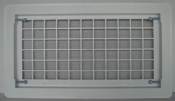 Witten 510WH Open Air Grill Foundation Vent, White