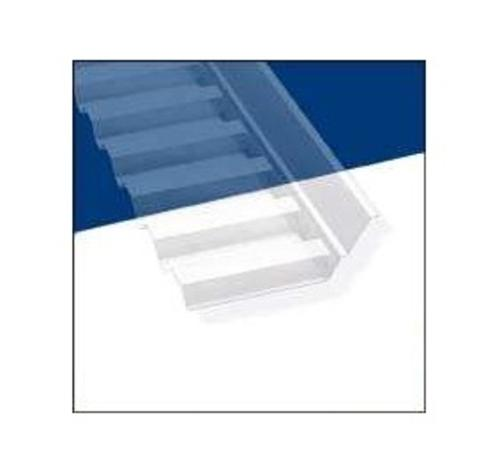 "Palram Americas 108657 Sidewall Connector Flashing, 4'-2"", Clear"