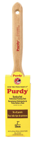 Purdy 144100320 Xl-Elasco Flat Sash Paint Brush, 2""