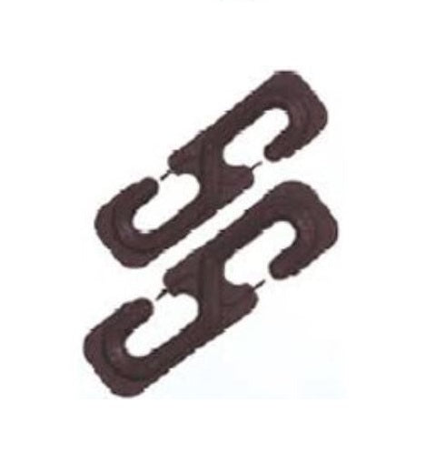 Ben-Mor 90262 Harmony Clothesline Spacers, Aged Bronze, 2 Piece