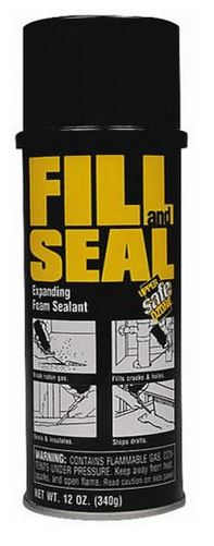 Dow 157859 Fill And Seal, Triple Expanding Foam Sealant, 12 Oz
