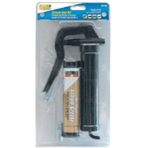Plews 30132 Multi-Purpose Mini Grease Gun Kit, 3 oz, 3600 psi