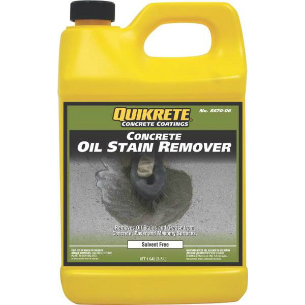 Quikrete 8670-06 Oil Stain Remover, Gallon