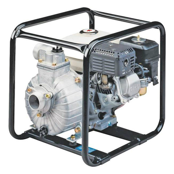 Tsurumi TE3-50HA Honda Gas Engine Centrifugal Pump, 4 Hp