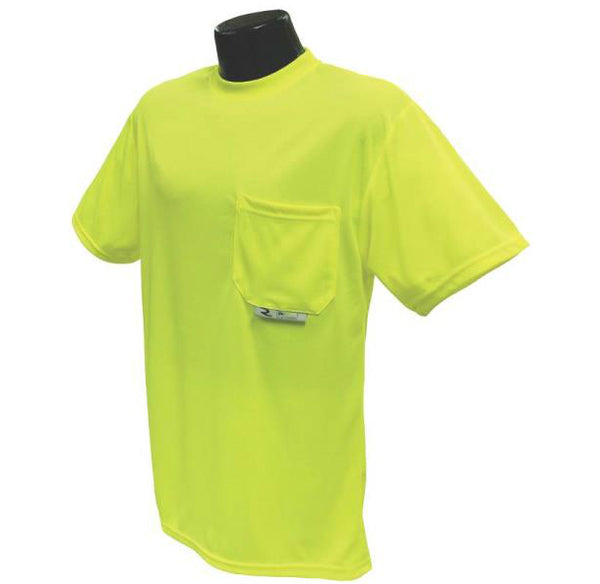 Radians ST11-NPGS-L Non-Rated Short Sleeve Safety T-Shirt, Large