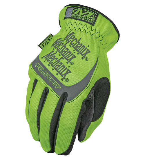 Mechanix Wear SFF-91-010 Safety FastFit Glove, Large, Hi-Viz Yellow