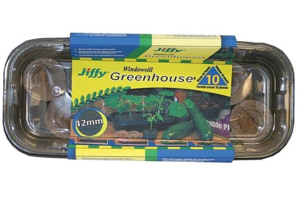 Jiffy J410 Windowsill Greenhouse